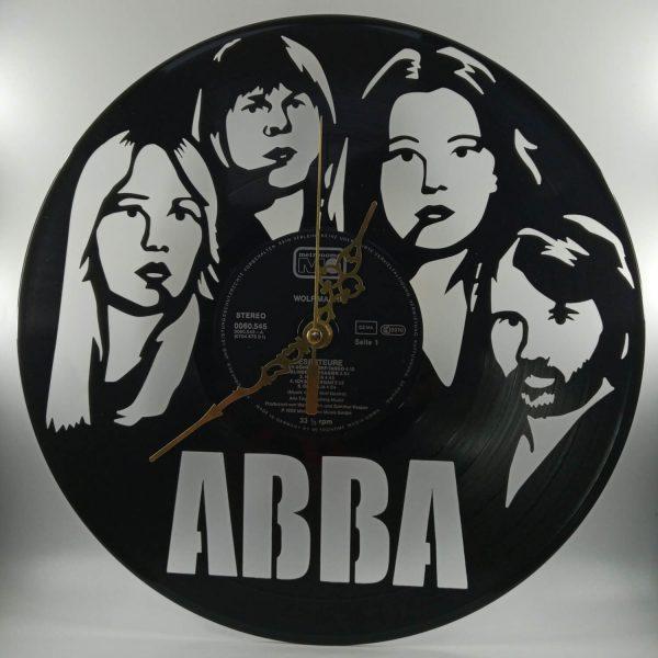 Hodiny z platne - ABBA