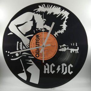Hodiny z platne - AC/DC 2