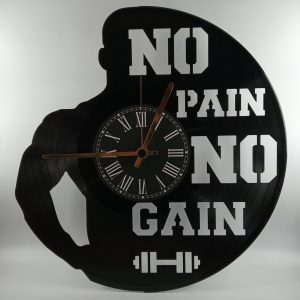 Hodiny fitness No Pain No Gain