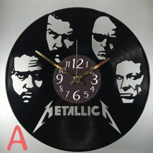 hodiny metallica