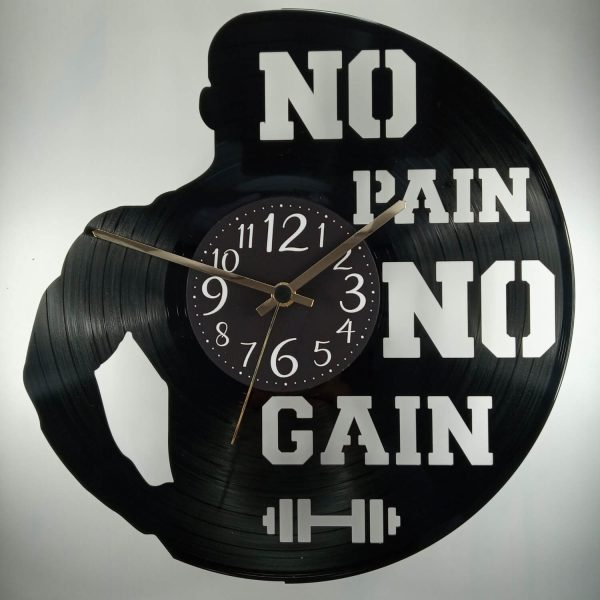 hodiny no pain no gain